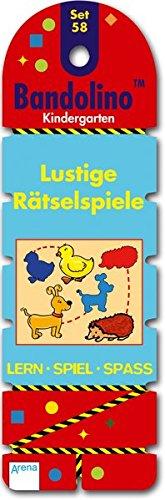 Bandolino Set 58. Lustige Rätselspiele: Kindergarten. Lern - Spiel - Spass
