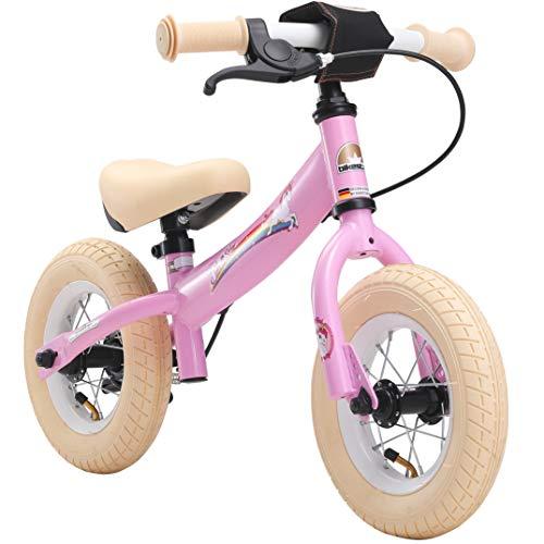 BIKESTAR Kinder Laufrad Lauflernrad Kinderrad für Mädchen ab 2-3 Jahre | 10 Zoll Sport Kinderlaufrad |...