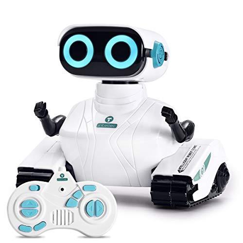 ALLCELE Fernbedienung Roboter Spielzeug für Jungen und Mädchen, RC Elektro Spielzeug mit Fernbedienung...