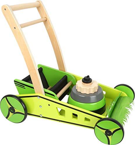 small foot - Lauflernwagen Rasenmäher aus Holz