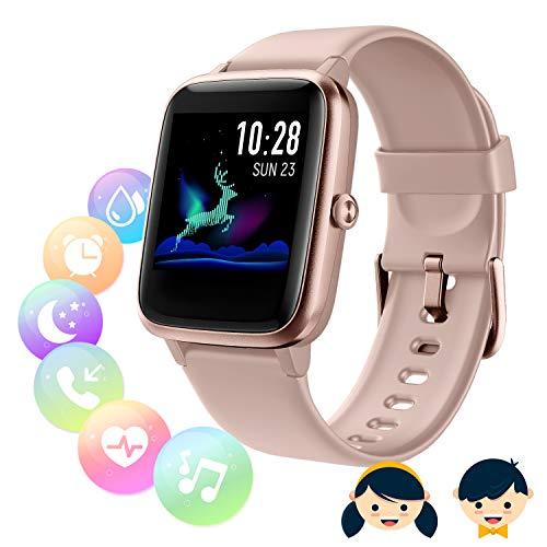 SmartWatch Fitness Tracker,Fitness Armband mit herzfrequenz,Smart Watch IP68Wasserdicht Fitness...