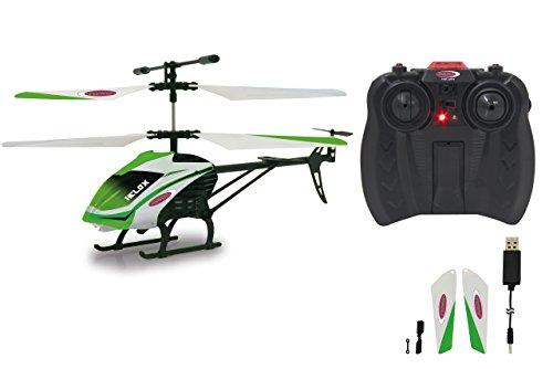 JAMARA 410063 - Helox 3+2Kanal Heli Gyro, Licht+Demo IR - RC Helikopter, Flexible, Robustes...