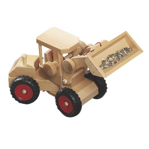 Fagus 10.47 Holz-Spielzeugfahrzeug (braun, 40cm)