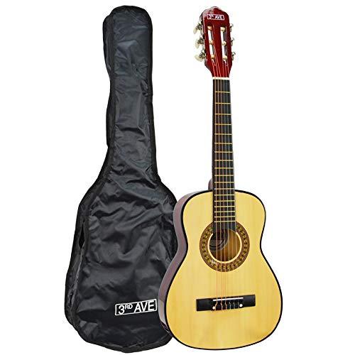 3rd Avenue STX20FN Klassische Gitarre in 1/4 Größe - Natur