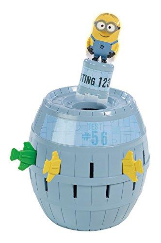 TOMY Kinderspiel 'Pop Up Minions' - hochwertiges Aktionsspiel für die ganze Familie aus dem Film 'Ich -...