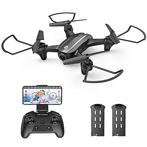 Holy Stone HS340 Mini Drohne mit Kamera 720P HD Live Übertragung für Kinder,RC FPV Quadrocopter mit 2...