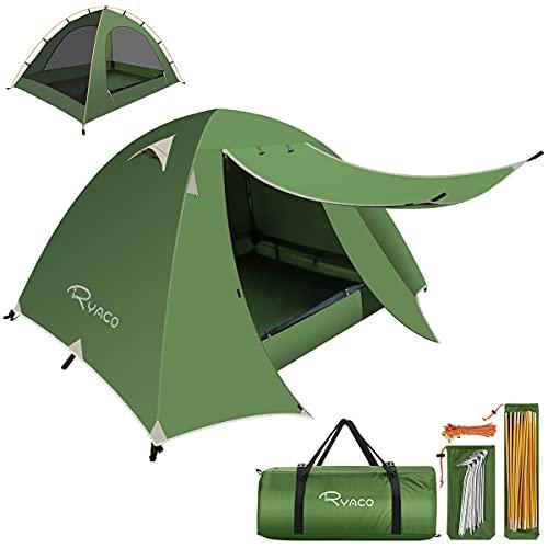RYACO Zelt 2 und 3 Personen Ultraleichte Camping Zelte, Leichte Kuppelzelte für Erwachsene Camping,...