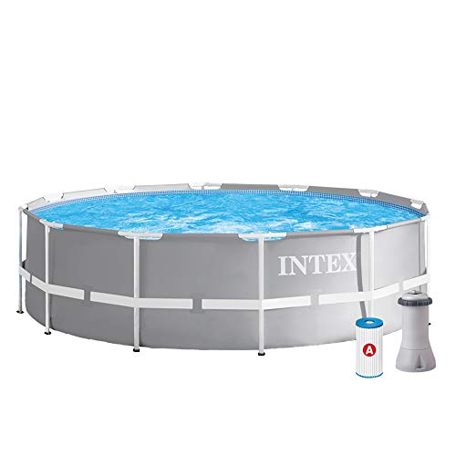 Intex Schwimmbecken Pool Ø 366 x 99 cm Frame Pool Set Prism Rondo 26716