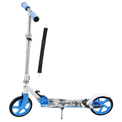 ArtSport Scooter Cityroller Skaterboy Jungen Big Wheel 205mm Räder klappbar höhenverstellbar –...