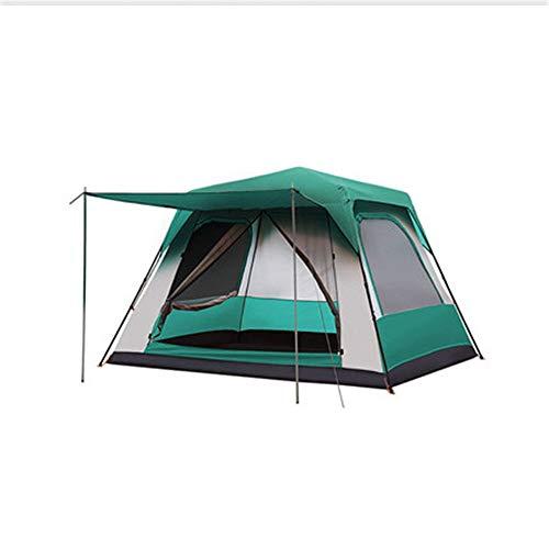Zelten Family Camp Zelt Freien Vollautomatische Zelt Outdoor-Camping-Zelt Villa 3 Farben bieten Platz for...