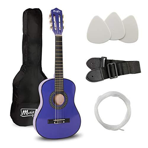 Musik Alley klassische akustische Gitarre Kinder Gitarre & Junior-Gitarre blau