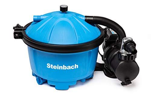 Steinbach Filteranlage Active Balls 50, Umwälzleistung 5,5 m³/h, 230 V/450 W, Anschluss Ø 32/38 mm,...