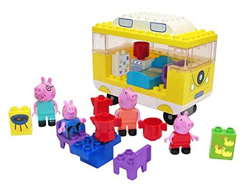 BIG-Bloxx Peppa Pig Camper - Peppa´s Campingwagen, Construction Set, BIG-Bloxx Set bestehend aus Familie...