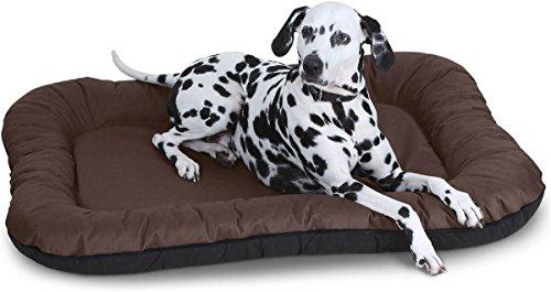 Knuffelwuff Hundebett Lucky In und Outdoor Hundekissen Hundesofa Hundekörbchen Hundekorb, Größe XXL...