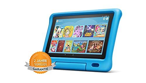 Fire HD 10 Kids-Tablet | 10,1 Zoll, 1080p Full HD-Display, 32 GB, Blau (vorherige Generation – 9.)