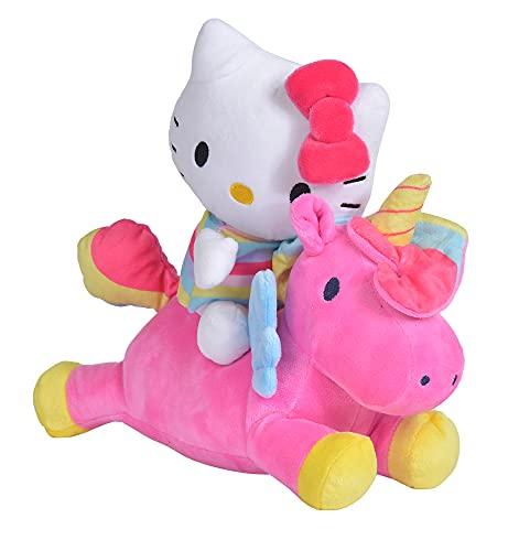 Simba 109281007 Hello Kitty Einhorn Konturplüsch, 25cm
