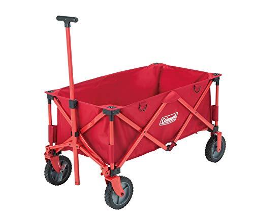 Coleman Bollerwagen Camping Wagon, Handwagen faltbar, klappbarer Transportwagen, belastbar bis 85 kg