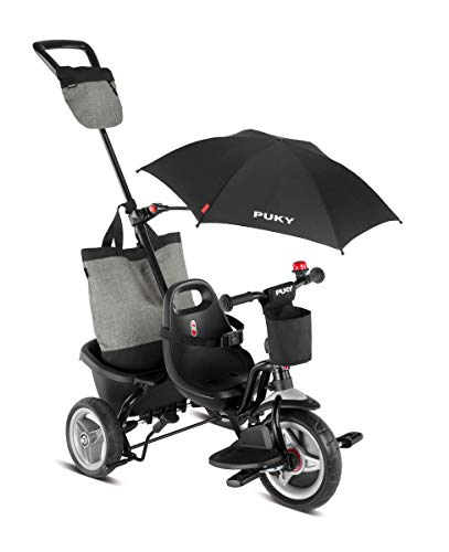 Puky CEETY Comfort Dreirad Carry-Touring-Kipper schwarz