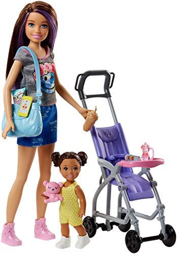 Mattel Barbie FJB00 'Skipper Babysitters Inc.' Puppen und Kinderwagen Spielset