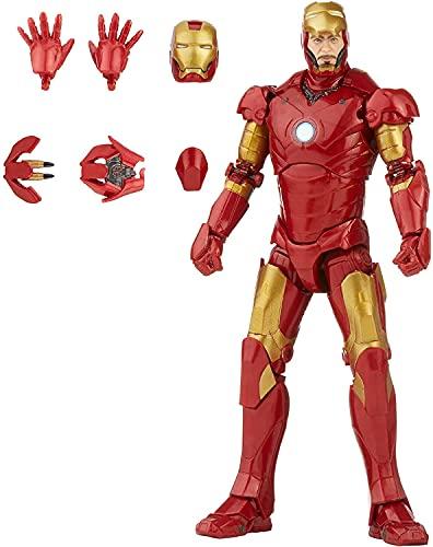 Hasbro Marvel Legends Series 15 cm große Iron Man Mark 3 Action-Figur, Charakter aus der Infinity Saga,...