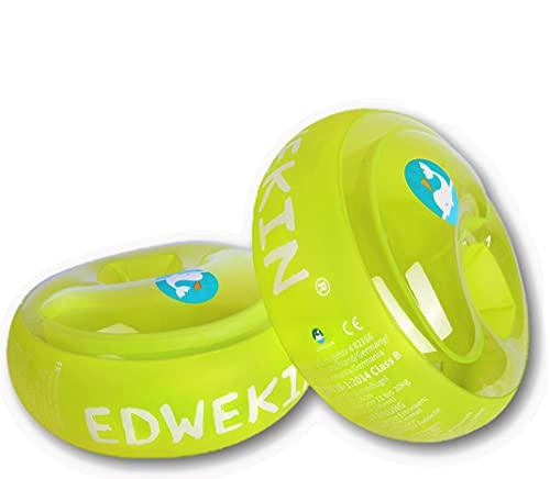 EDWEKIN® Schwimmflügel für Kinder mit extragroßen Luftkammern; Schwimmhilfe für Baby / Kleinkinder...