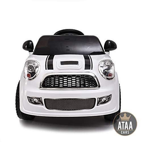 ATAA CARS Mini EINE 6V - elektroauto billig - Weiß