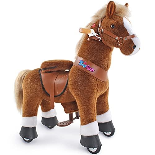 PonyCycle Offizielles authentisches Reitspielzeug für Kleinkinder (mit Bremse und Sound/ 79 cm Höhe/ U3...