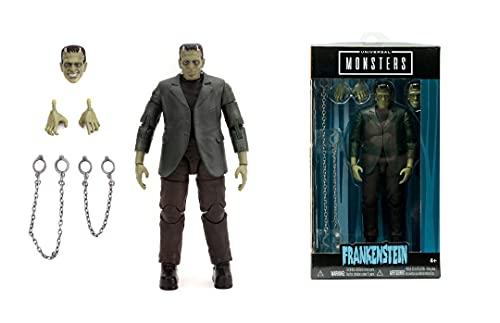 Jada Toys 253251014 Monsters Frankenstein 6' Figure, schwarz