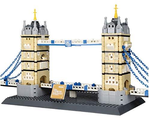 WANGE Tower Bridge, London - Klemmbausteine - ArtikelNr. 4219, Teileanzahl: 969