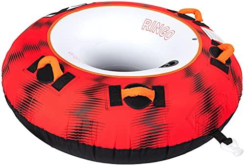 MESLE Tube Ringo 54'', 1 Person, aufblasbarer Schlepp-Reifen zum Ziehen, Towable Donut Fun-Tube, für...