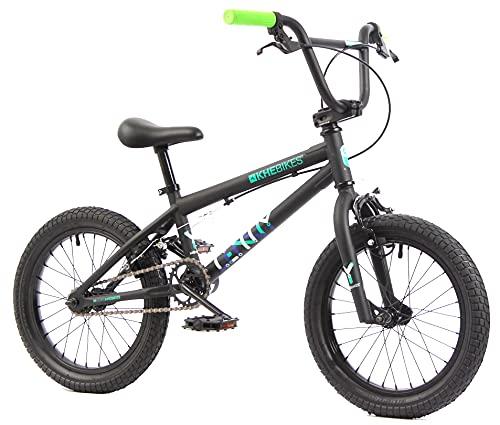 KHE BMX Fahrrad Lenny schwarz 16 Zoll nur 9,4kg!