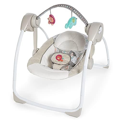 Ingenuity, tragbare Babyschaukel, Cozy Kingdom
