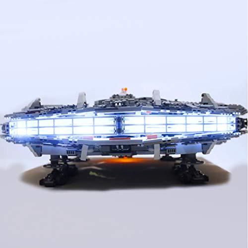 BANDRA Licht Kit - LED Licht-Set für Lego 75192 - Star Wars Millennium Falcon Bauspielzeug (Nicht...