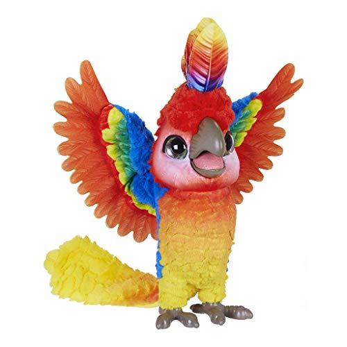 Hasbro FurReal Friends E0388105 Lolo, Mein Papagei, bunt, Sin Talla