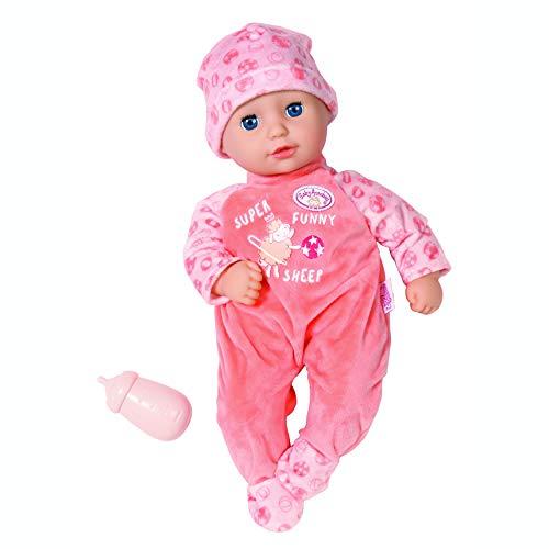 Zapf Creation 706343 Baby Annabell Little Annabell 36cm - Für Kleinkinder ab 1 Jahr - Einfach für...
