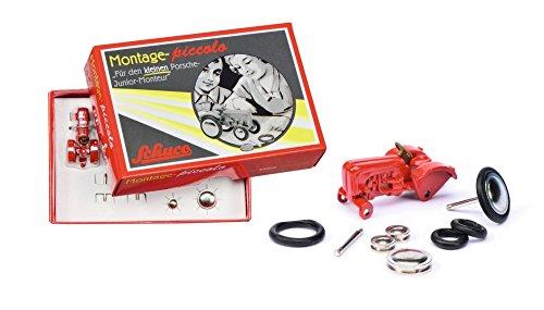 Schuco 450558700 - Piccolo Montagekasten Porsche Junior, rot