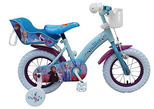Eiskönigin 12 Zoll Kinderfahrrad Fahrrad Dreirad Disney Frozen Anna & ELSA 51261
