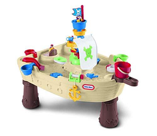Little Tikes Anchors Away Piratenschiff - Wasserspielset für Kinder - Sicher und tragbar - Fördert...