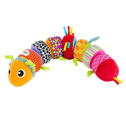 Lamaze LC27244 Softes Raupenpuzzle Babyspielzeug zur Förderung der motorischen Fähigkeiten, Buntes...