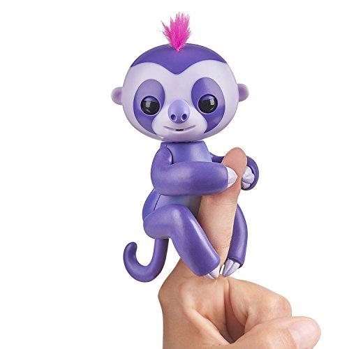 Fingerlings Faultier lila Marge 3752 interaktives Spielzeug, reagiert auf Geräusche, Bewegungen und...