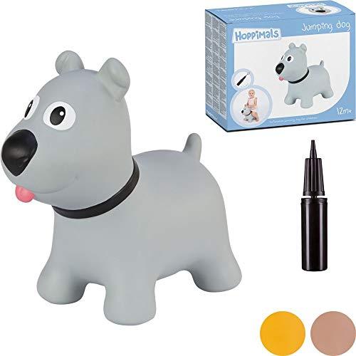 Hoppimals Tootiny Hüpfende Hund Space Hopper für Kinder - Hüpftier ab 1 Jahr und älter - Verpackt im...
