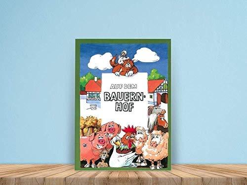 Personalisiertes Kinderbuch: Auf dem Bauernhof