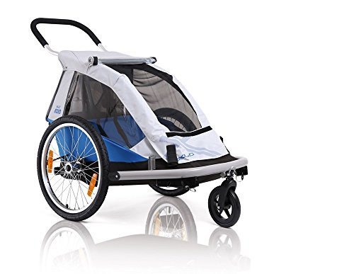 XLC Mono-BS-C01 2014 Fahrradanhänger blau/Silber 3092000600