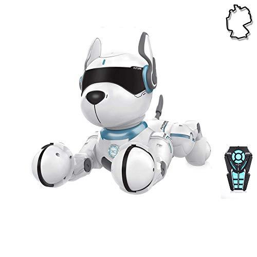 HSP Himoto Roboter Hund Dog RC ferngesteuert programmierbar mit Tanzfunktion, realistische Bewegungen,...