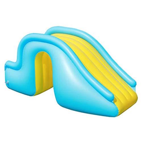Aufblasbare Wasserrutsche Breitere Schritte Fun Play Center, PVC Joyful Swimming Pool Zubehör für...