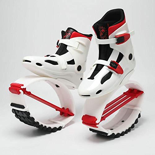 gengyouyuan Elastische Schuhe springen leicht Space Bouncer Jump Schuhe Stelzen Bounce Schuhe