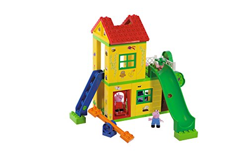 BIG Spielwarenfabrik 800057076 BIG-Bloxx Peppa Pig Play House - Baumhaus, Construction Set, BIG-Bloxx Set...
