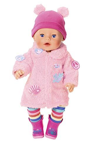 BABY born Deluxe Mantel für 43cm Puppe - Leicht für Kleine Hände, kreatives Spiel fördert Empathie &...
