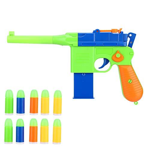 Dilwe Toy Gun Pistole, Safe Realistic 1911 Toy Gun Blaster Gun Spielzeug mit Soft Bullet Ball für Kinder...