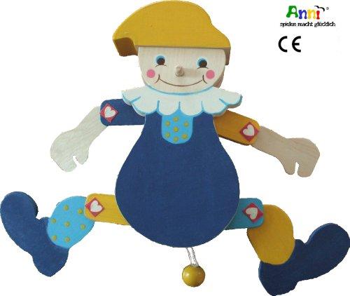 Anni-spielen macht glücklich Hampelmann Paulinchen (blau)
